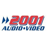 2001 Audio Video Flyer - Circular - Catalog - Bathroom Furniture