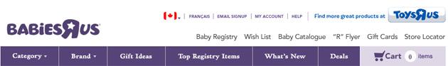 """Babies""""r""""us Online Flyer"""