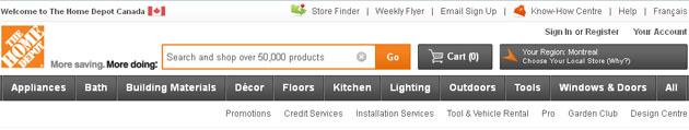 Home Depot Online