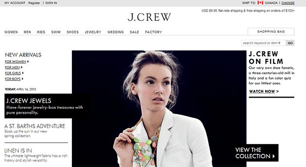 J.crew Online
