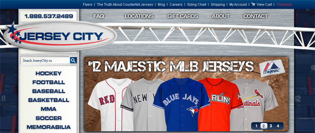 Jersey City Online Store