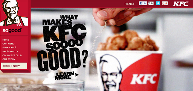 Kfc Kentucky Fried Chicken Online