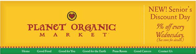 Planet Organic Market Online