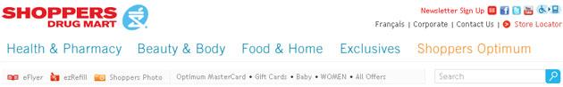 Shopper Drug Mart Weekly Flyer Online Web Site
