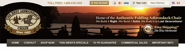 The Best Adirondack Chair Online
