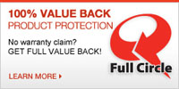 The Brick   Full Circle 100% Value Back