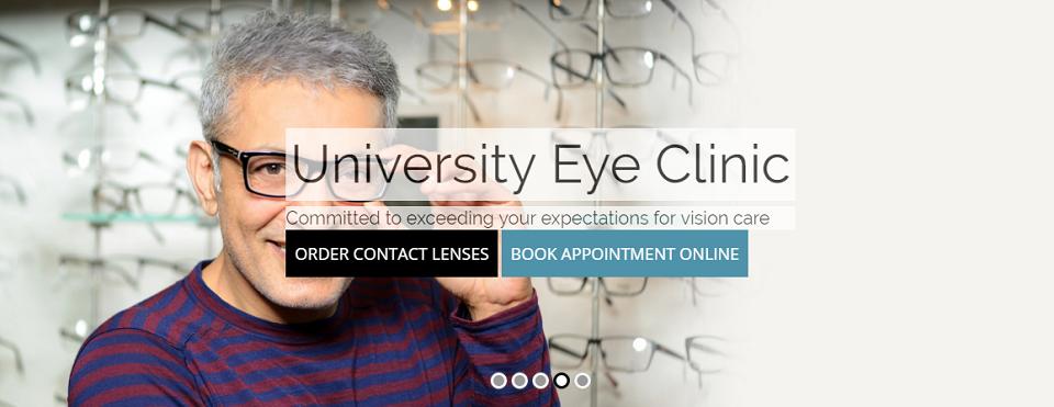 University Eye Clinic Online